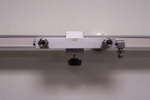 Double Air DISS Gas Block