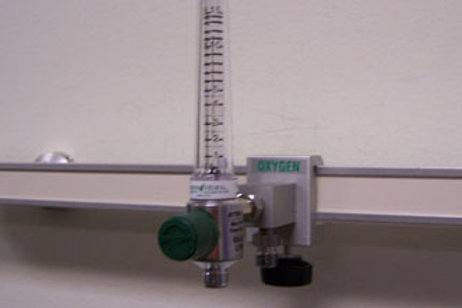 O2 Single Gas Block With Flow-meter