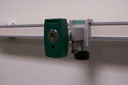 O2 Single Gas Block Chemetron Coupler