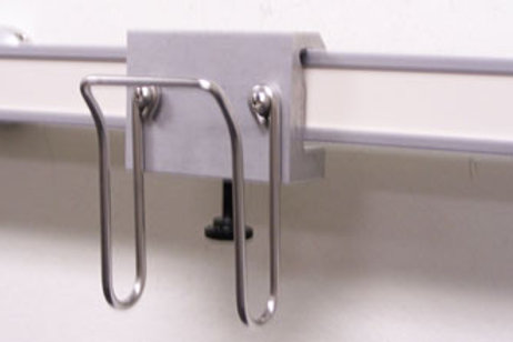 Rail-mounted Cable Holder