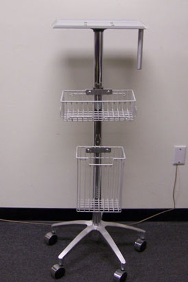 Custom Mobile  Stand with Baskets