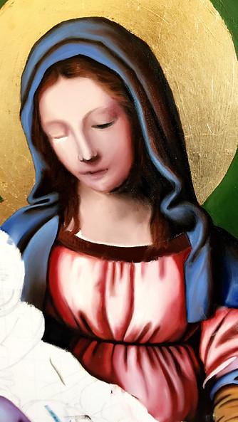 Studio Madonna e Bambino Gesu