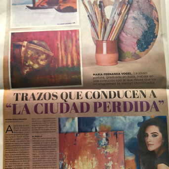 El Nuevo Diario: The Brushtrokes that Lead to the Lost City