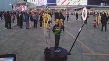Сразу 6 интерактивных зон на празднике#япроголосовалу Казань Арены