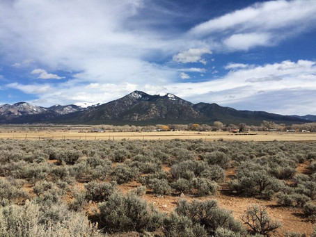Field Mapping in Taos, New Mexico