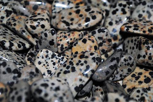 Bulk Dalmation Jasper | Tumbled Stone | Mineral Healing | Nurturing Stone