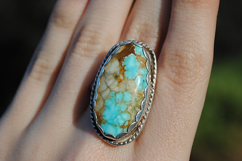 Turquoise Ring | Sterling Silver | Locally Made