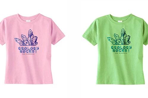 Children's Shirts | Geology Rocks | Merch |