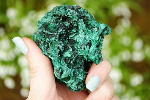 Fibrous  Malachite   Green Stone   Travelers Stone   Heart Chakra   Scorpio