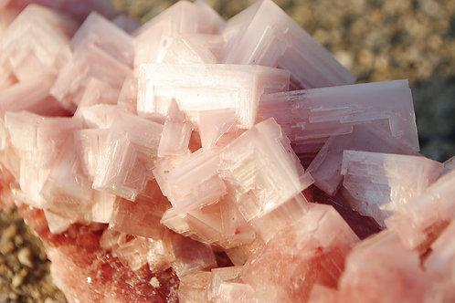 Halite | Rock Salt | Pink Rock | Mineral | Pink Crystal | Cancer