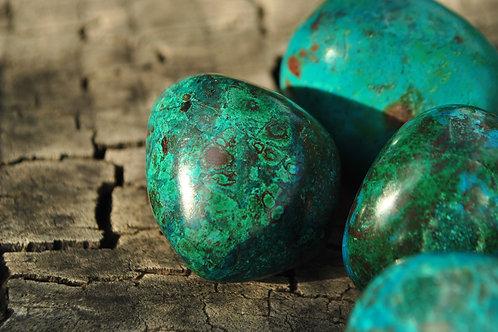 Large Tumbled Chrysocolla Stones