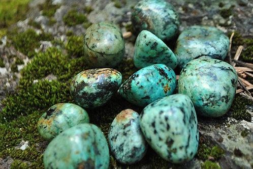 Tumbled African Jasper Stones