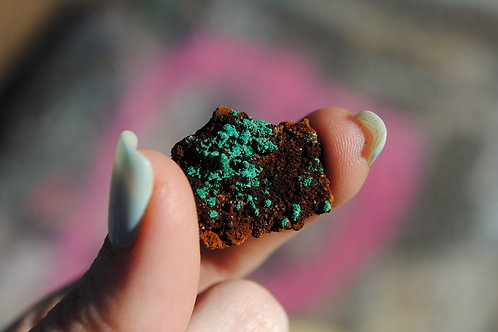 Small Malachite Chunk & Associated Minerals | Green Mineral | Heart Chakra