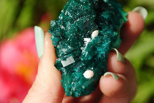 Dioptase   Aqua Crystal  Copper Silicate   Stone   Crystal Healing  