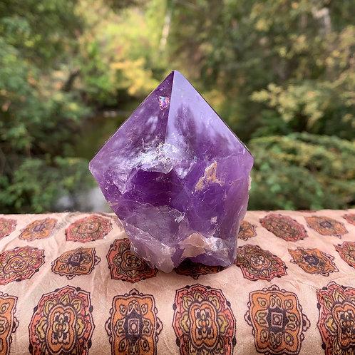 Amethyst Crystal Point