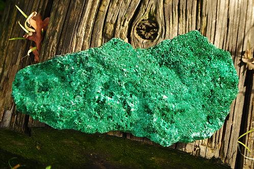 Fibrous Malachite | Green Stone | Travelers Stone | Heart Chakra | Scorpio