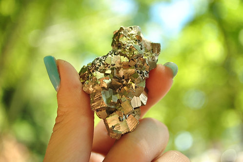 Pyrite Crystal Clusters