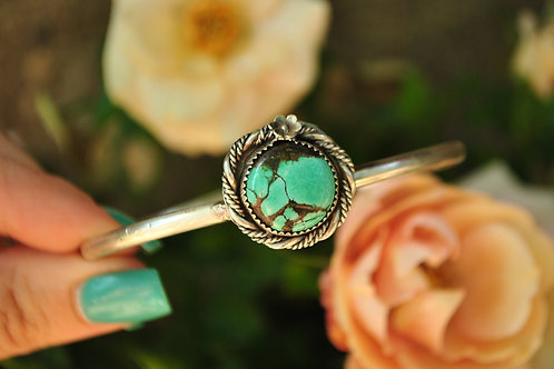 Hubei Turquoise Silver Bracelet