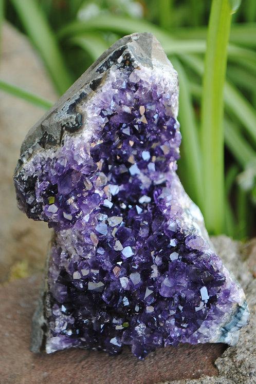 Self-Standing Amethyst Geodes   Purple Crystal   Violet Terminations   Third Eye