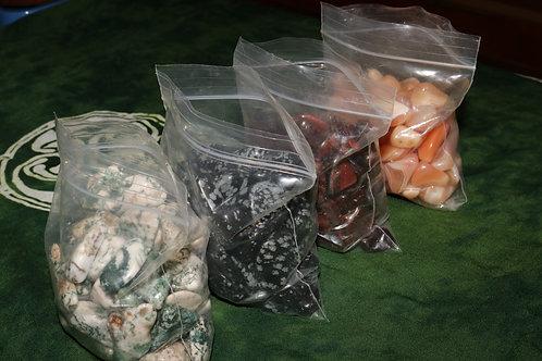Variety Tumbled Stones