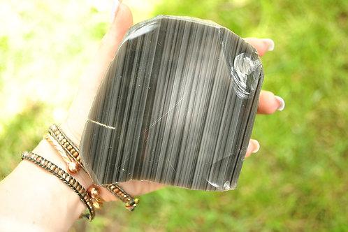 Polished Obsidian Slab
