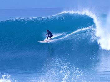 Jeg har surfet på bølgene!