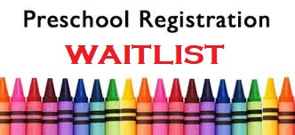 Preschool Registration Waitlist