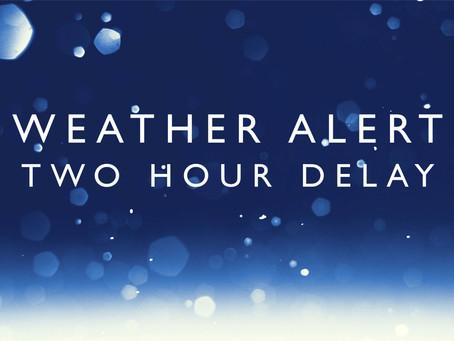 2 Hour Delay - 1/23/19