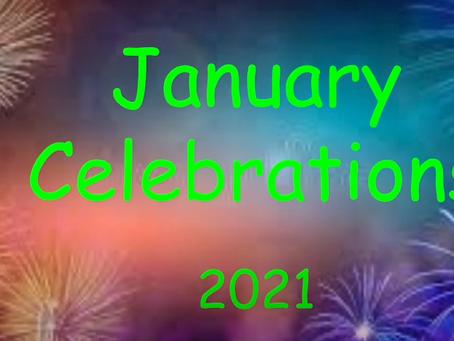 January Elementary Celebrations!