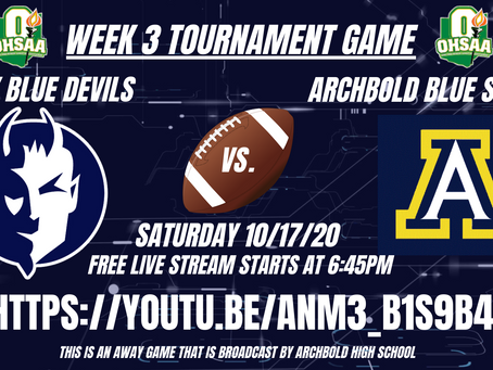 Carey vs. Archbold - OHSAA Football Playoffs Week 3