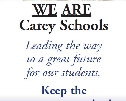 Vote Yes for Carey Schools Renewal!