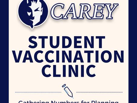 Students 16+ Vaccination Parent Survey