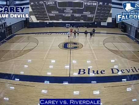 Carey vs. Riverdale Boys Basketball Live Stream