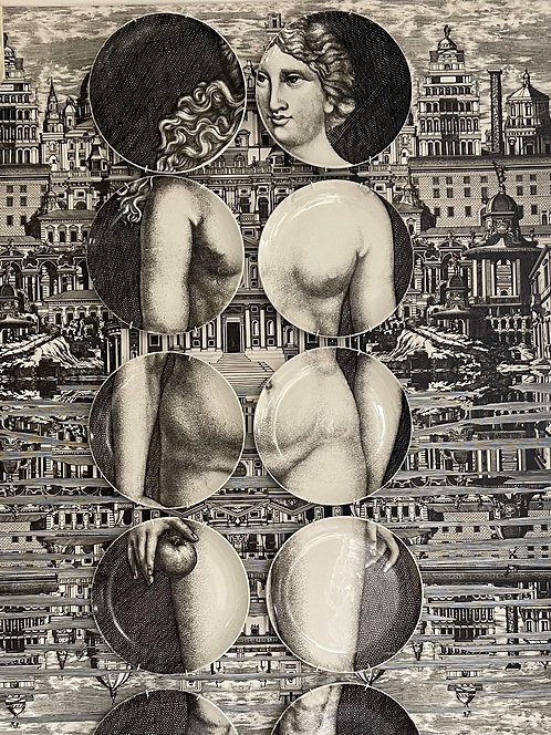 Fornasetti 12 Plate Eve Set