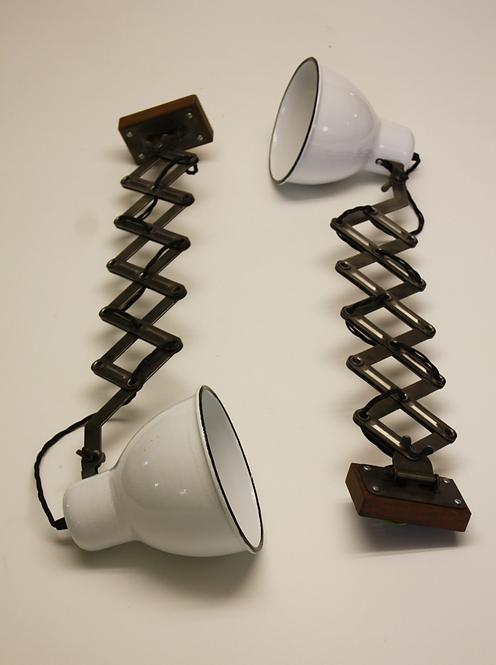 Pair of Wall Mounted Anglepoise Lamps