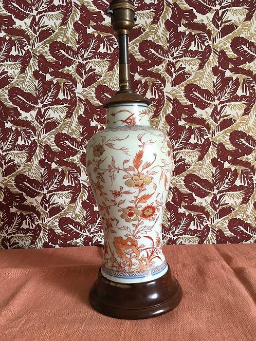 Antique Chinoiserie Vase adapted