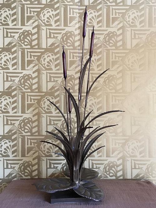 'Maison Jansen' Bullrush Table Lamp