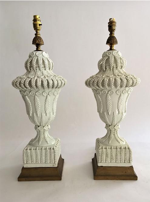 A Pair of Vintage Casa Pupo lamps
