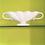 Thumbnail: Constance Spry Grey Scallop Design Mantle Vase