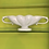 Thumbnail: Constance Spry Light Grey Scallop Mantle Vase