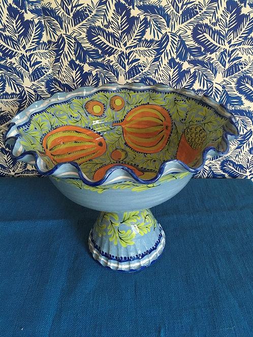 Katrin Moye Jewel Fruit Compote Pedestal Bowl