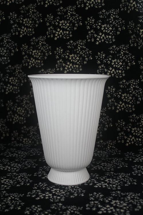 Wedgwood of Barlaston & Etruria Round Ribbed Vase