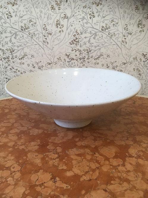 Mercury Bowl Grey Speckled 28cm