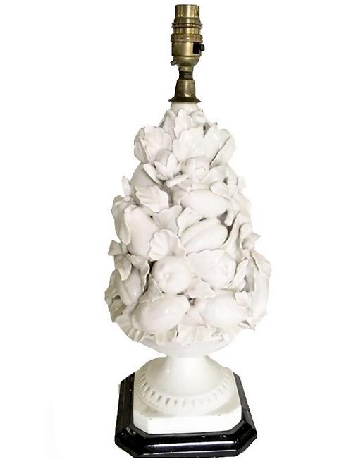 Vintage Casa Pupo Style Fruit Lamp