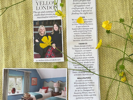 Elle Decoration and Yellow London