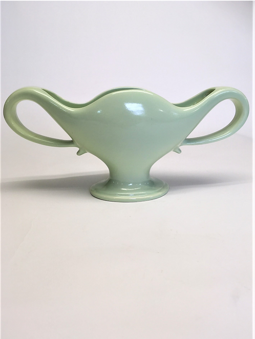 Large Light Green Classic Constance Spry Mantle Vase