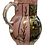 Thumbnail: Pink Gilded jug beautifully hand painted by Priscilla Kennedy