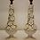 Thumbnail: Pair of Floral Casa Pupo Lamps