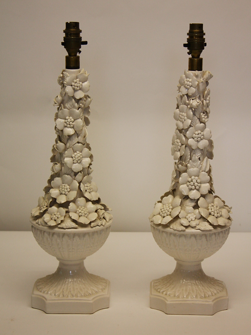 Pair of Floral Casa Pupo Lamps