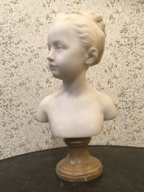 Marble Head of Child